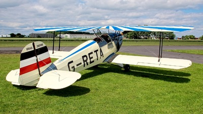 G-RETA - CASA 1.131E Jungmann - Private