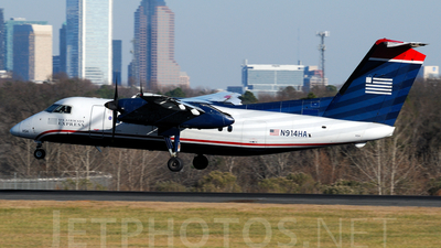 A picture of N914HA - De Havilland Canada Dash 8100 - [053] - © Agustin Anaya
