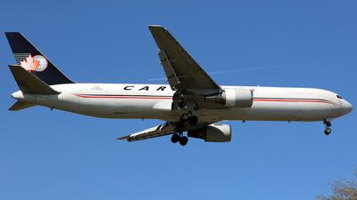A picture of CGVIJ - Boeing 767328(ER)(BDSF) - Cargojet Airways - © J.M.Carballo