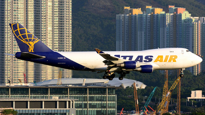 N499MC - Boeing 747-47UF(SCD) - Atlas Air