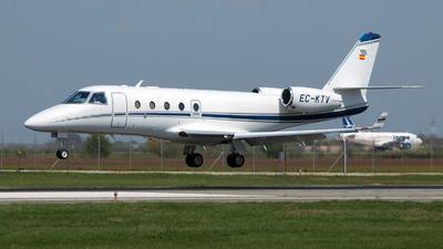 A picture of ECKTV - Gulfstream G150 -  - © Marin Ghe.