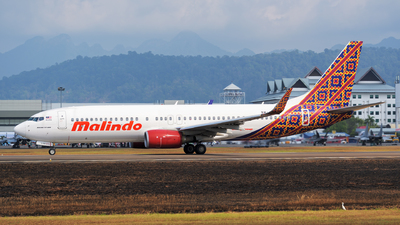 9M-LCG - Boeing 737-8GP - Malindo Air