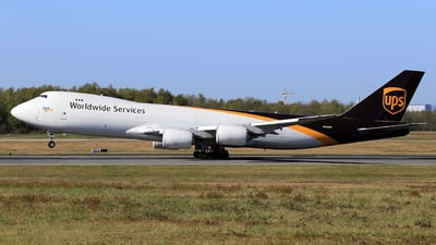 N616UP - Boeing 747-84AF - United Parcel Service (UPS)