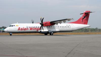XY-AIU - ATR 72-212A(500) - Asian Wings Airways