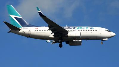 A picture of CGWSP - Boeing 7377CT - WestJet - © JFrag