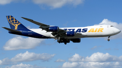N854GT - Boeing 747-87UF - Atlas Air