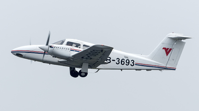 B-3693 - Piper PA-44-180 Seminole - Civil Aviation Flight University of China