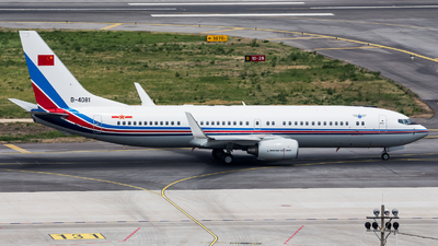 B-4081 - Boeing 737-85N - China - Air Force