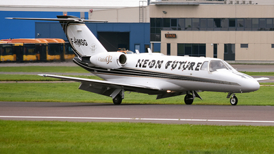 F-HMSG - Cessna 525 Citationjet CJ2 - Private