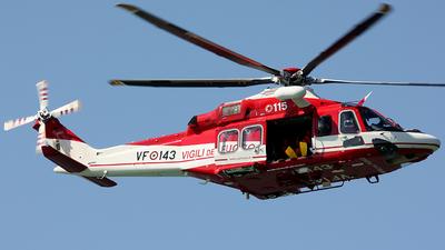 VF-143 - Agusta-Westland AW-139 - Italy - Vigili del Fuoco
