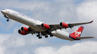 G-VATL - Airbus A340-642 - Virgin Atlantic Airways