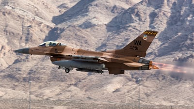 86-0291 - General Dynamics F-16C Fighting Falcon - United States - US Air Force (USAF)