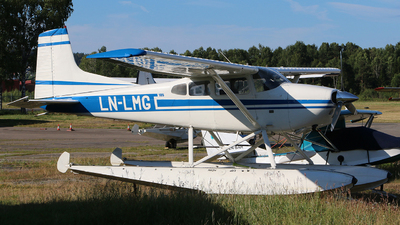 LN-LMG - Cessna A185F Skywagon - Private