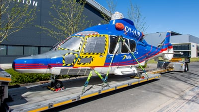 A picture of OYHJB - Airbus Helicopters H155 - Air Greenland - © Dutch