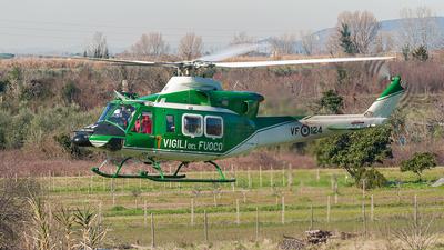 CFS24AE - Agusta-Bell AB-412EP - Italy - Vigili del Fuoco