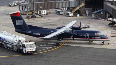 N328EN - Bombardier Dash 8-311 - US Airways Express (Piedmont Airlines)
