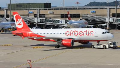 D-ABFB - Airbus A320-214 - Air Berlin