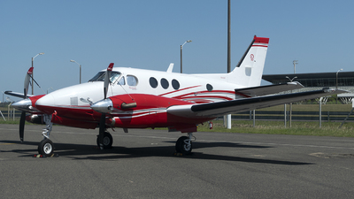 N1110K - Beechcraft C90B King Air - Private