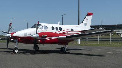 A picture of N1110K - Beech C90A King Air - [LJ1486] - © Ezequiel Arpajou