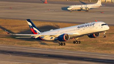 VQ-BFY - Airbus A350-941 - Aeroflot
