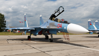 04 - Sukhoi Su-30SM - Belarus - Air Force