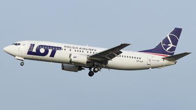 A picture of SPLLE - Boeing 73745D - [27914] - © Jakob_Håkansson