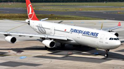 TC-JII - Airbus A340-313X - Turkish Airlines