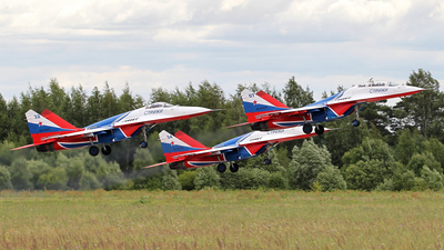 RF-91925 - Mikoyan-Gurevich MiG-29S Fulcrum C - Russia - Air Force