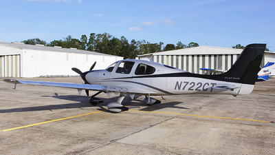 N722CT - Cirrus SR22T-GTS Platinum - Private