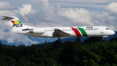 CS-TPF - Fokker 100 - PGA Portugália Airlines