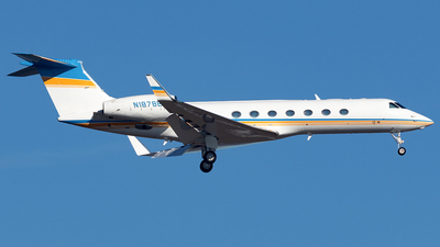 N1878E - Gulfstream G550 - Private