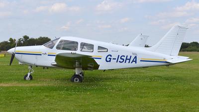 G-ISHA - Piper PA-28-161 Warrior III - LAC Flying School