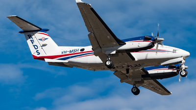VH-MSH - Beechcraft B200 Super King Air - Royal Flying Doctor Service of Australia (SE Section)