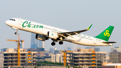 B-30FZ - Airbus A321-253NX - Spring Airlines