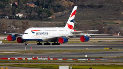 A picture of GXLEK - Airbus A380841 - British Airways - © Nowakowski Adrian
