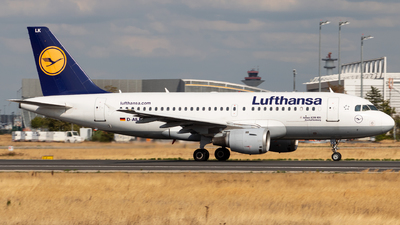 D-AILK - Airbus A319-114 - Lufthansa