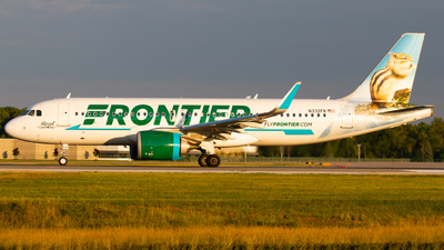 N332FR - Airbus A320-251N - Frontier Airlines