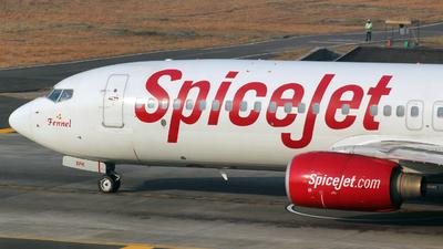 VT-SPK - Boeing 737-8GJ - SpiceJet
