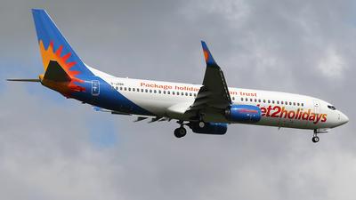 A picture of GJZBR - Boeing 7378MG - Jet2 - © Nigel Fenwick