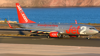 A picture of GGDFY - Boeing 73786Q - Jet2 - © Alejandro Hernández León
