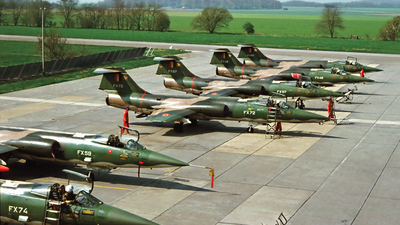 FX72 - Lockheed F-104G Starfighter - Belgium - Air Force