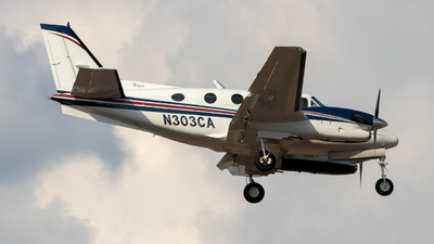 N303CA - Beechcraft C90A King Air - Private