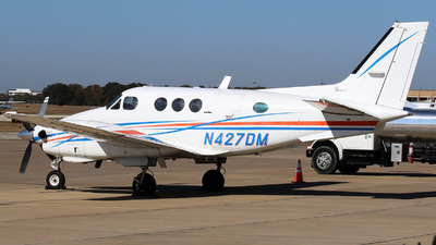 N427DM  - Beechcraft C90 King Air - Private