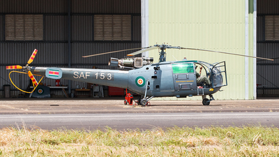 SAF 153 - Hindustan Aeronautics SA 316B Chetak - Suriname - Air Force