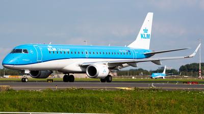 A picture of PHEZZ - Embraer E190STD - KLM - © Wilko Doodhagen
