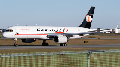 A picture of CGVAJ - Boeing 757223(PCF) - Cargojet Airways - © Andrew Wu