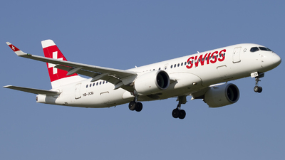 A picture of HBJCM - Airbus A220300 - Swiss - © Rafal Pruszkowski