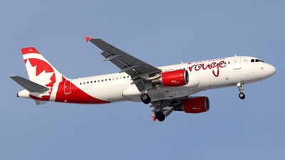 A picture of CGFCH - Airbus A320214 - Air Canada Rouge - © Guy Langlois