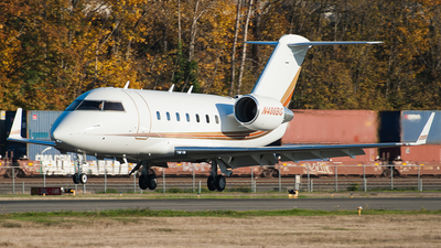 N486BG - Bombardier CL-600-2B16 Challenger 604 - Private