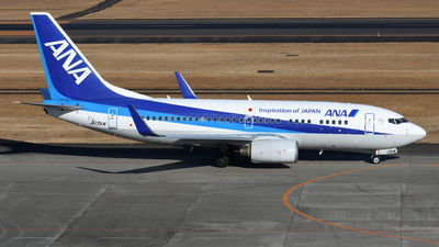A picture of JA17AN - Boeing 737781 - [33884] - © HIroki Manabe